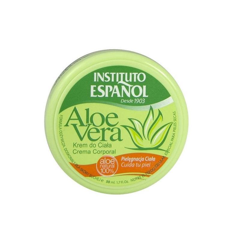 Aloe Vera krem do ciała nawilżający Aloes 50ml