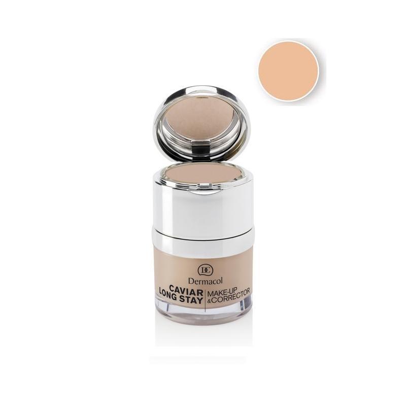 Caviar Long Stay Make-Up & Corrector podkład do twarzy z korektorem 01 Pale 30ml