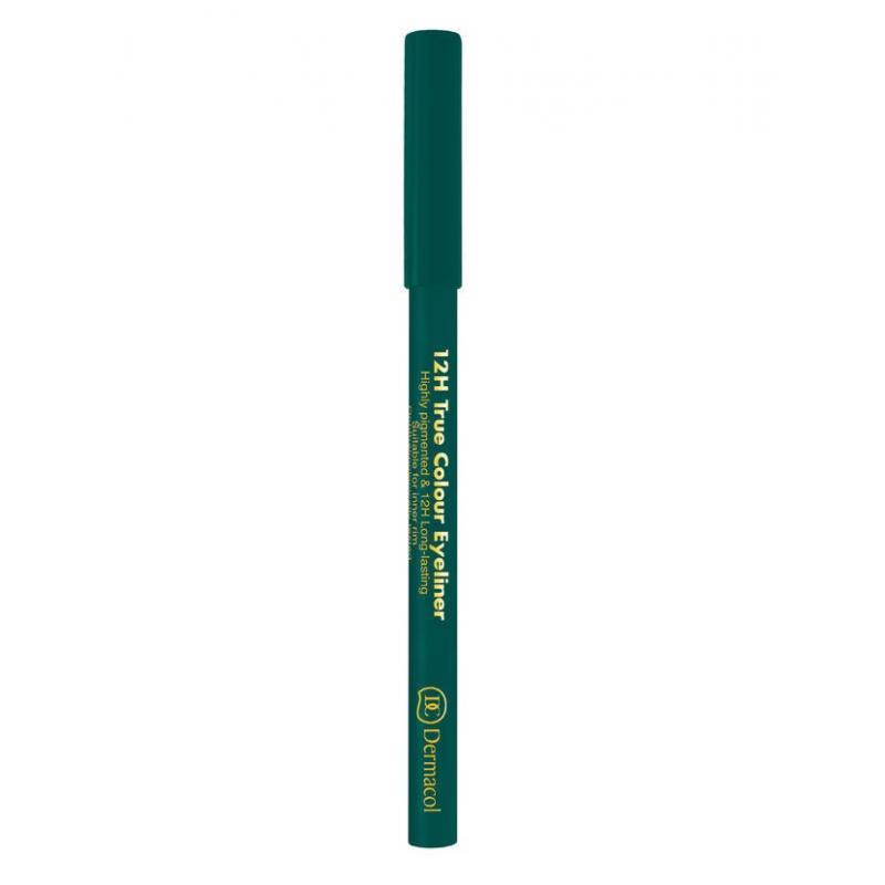 12H True Colour Eyeliner długotrwały eyeliner w kredce 5 Green 2g