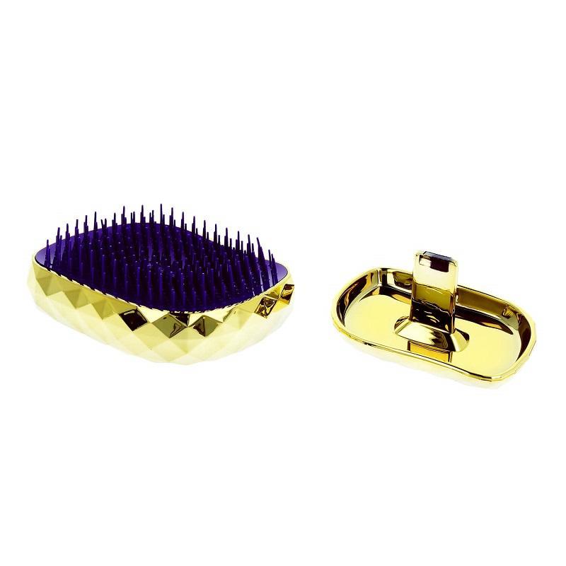 Spiky Hair Brush Model 4 szczotka do włosów Diamond Gold