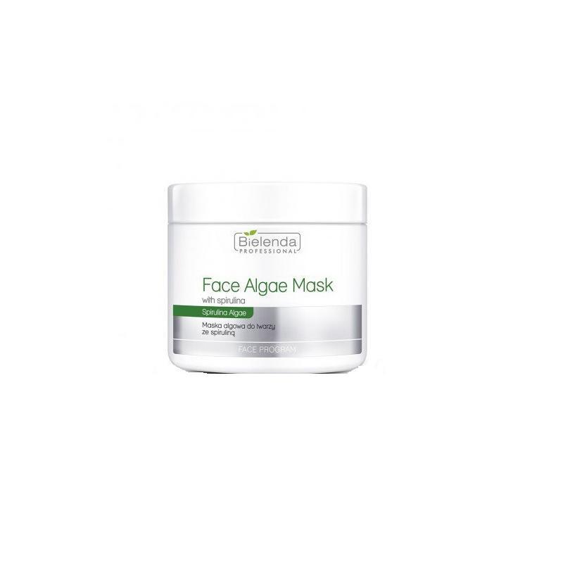 Face Algae Mask With Spirulina maska algowa do twarzy ze Spiruliną słoik 190g