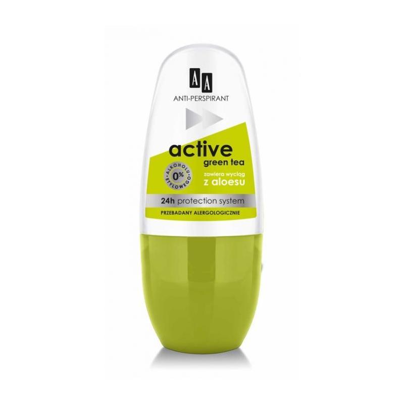 Active Anti-Perspirant 24h dezodorant roll-on Green Tea 50ml