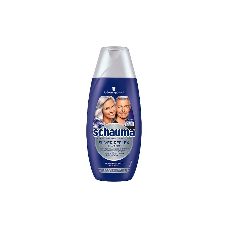 Silver Reflex Shampoo szampon przeciw żółtym tonom do włosów siwych białych i blond 250ml