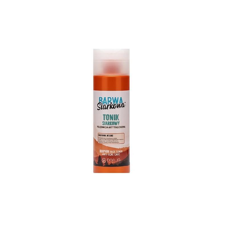 Siarkowa Sulphuric Anti-Acne Skin Tonic antytrądzikowy tonik siarkowy 200ml