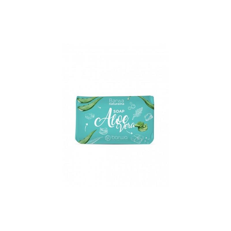 Naturalna Soap pielęgnacyjne mydło w kostce do rąk i ciała Aloe Vera 100g