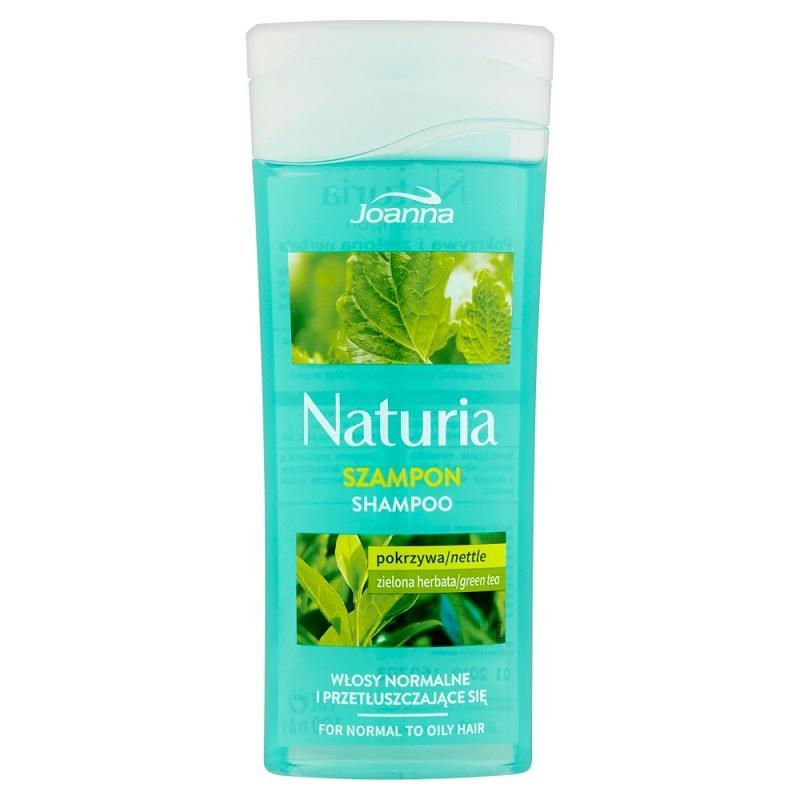 Naturia szampon do włosów normalnych i przetłuszczających się Pokrzywa i Zielona Herbata 100ml