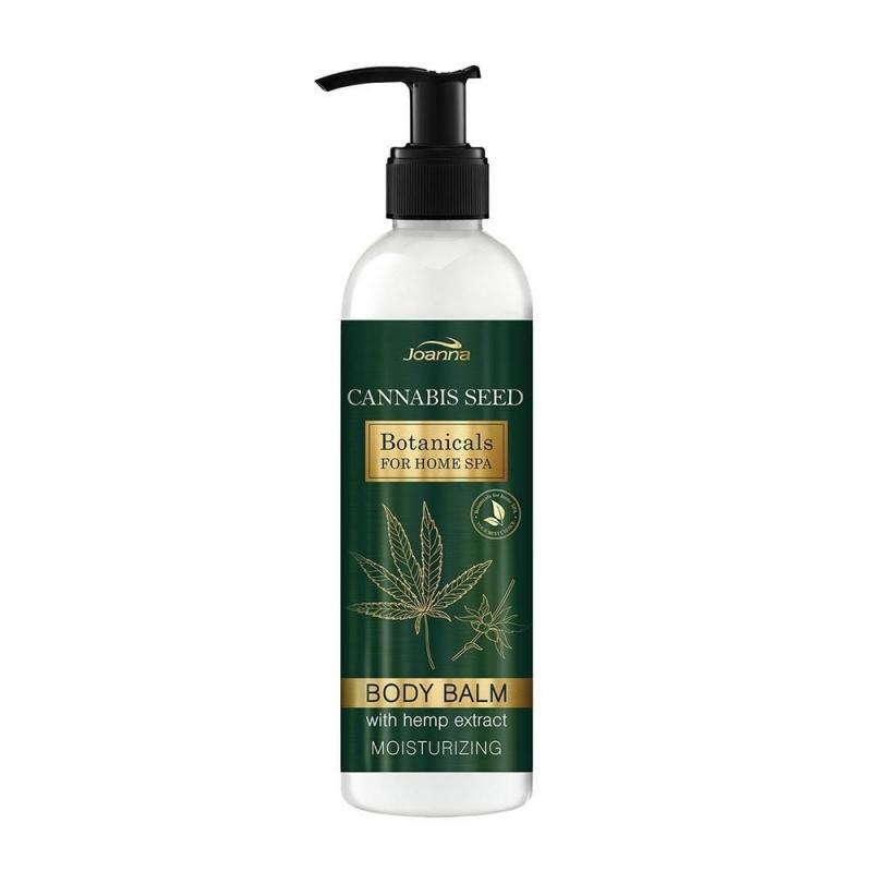 Botanicals For Home Spa nawilżający balsam do ciała z ekstraktem z konopi 240g
