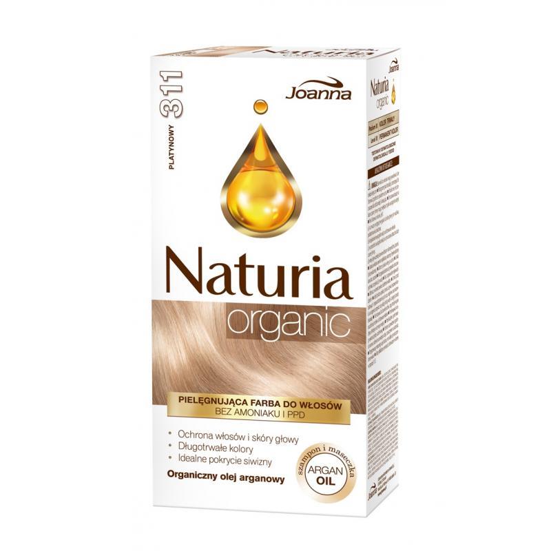 Naturia Organic pielęgnująca farba do włosów bez amoniaku i PPD 311 Platynowy