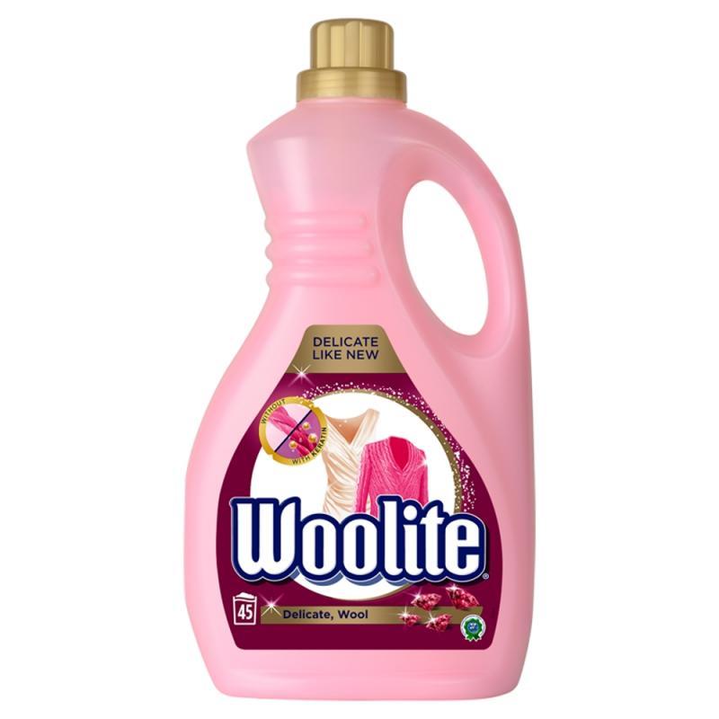Delicate Wool płyn do prania ochrona delikatnych tkanin z keratyną 2700ml