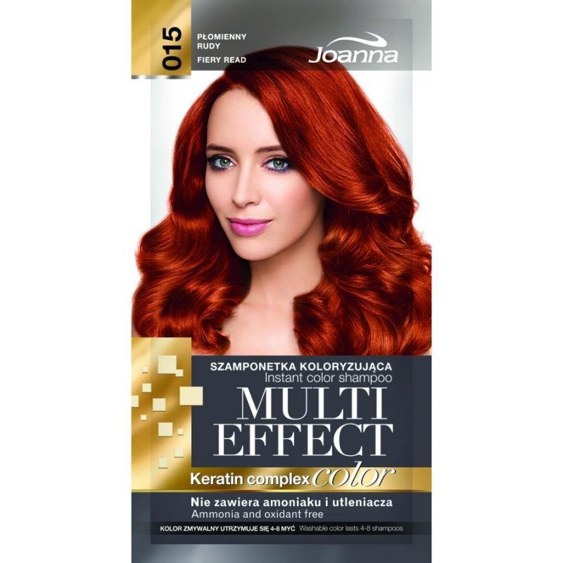 Multi Effect szamponetka koloryzująca 015 Płomienny Rudy 35g