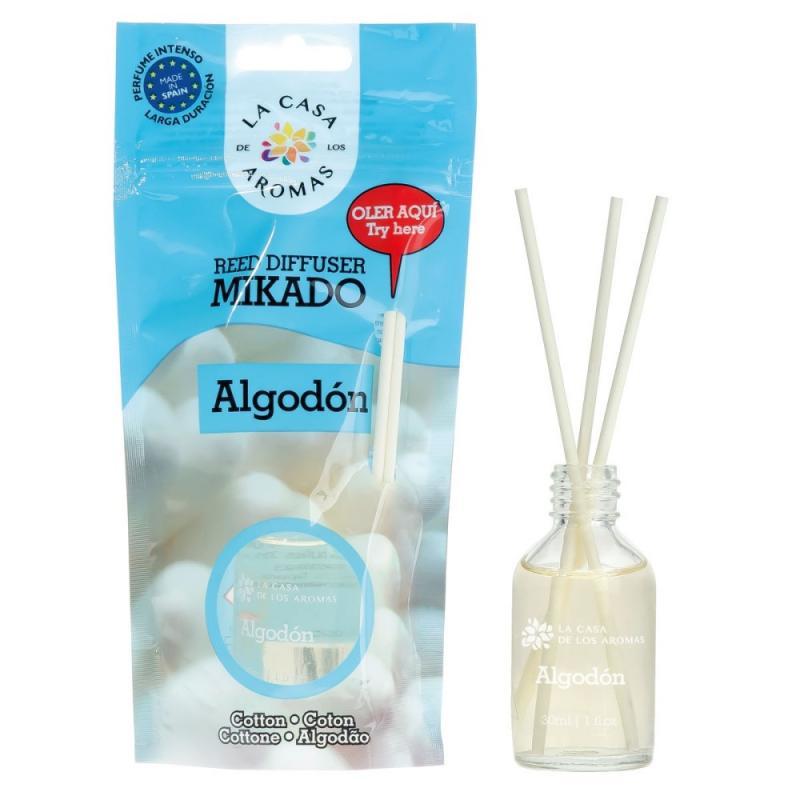 Olejek aromatyczny z patyczkami Bawełna 30ml