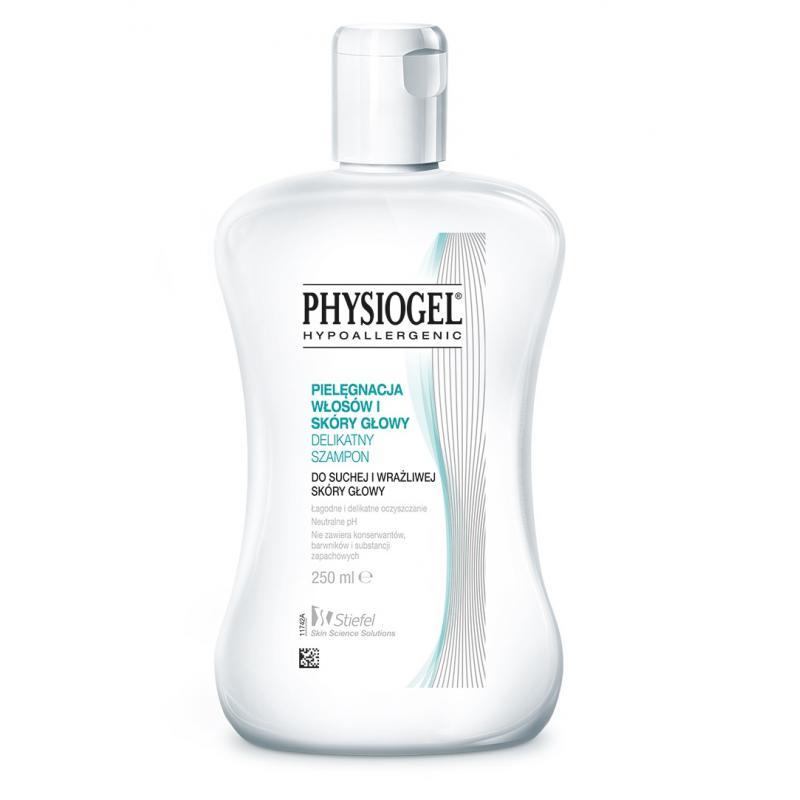 Pielęgnacja Włosów i Skóry Głowy delikatny szampon do suchej i wrażliwej skóry głowy 250ml