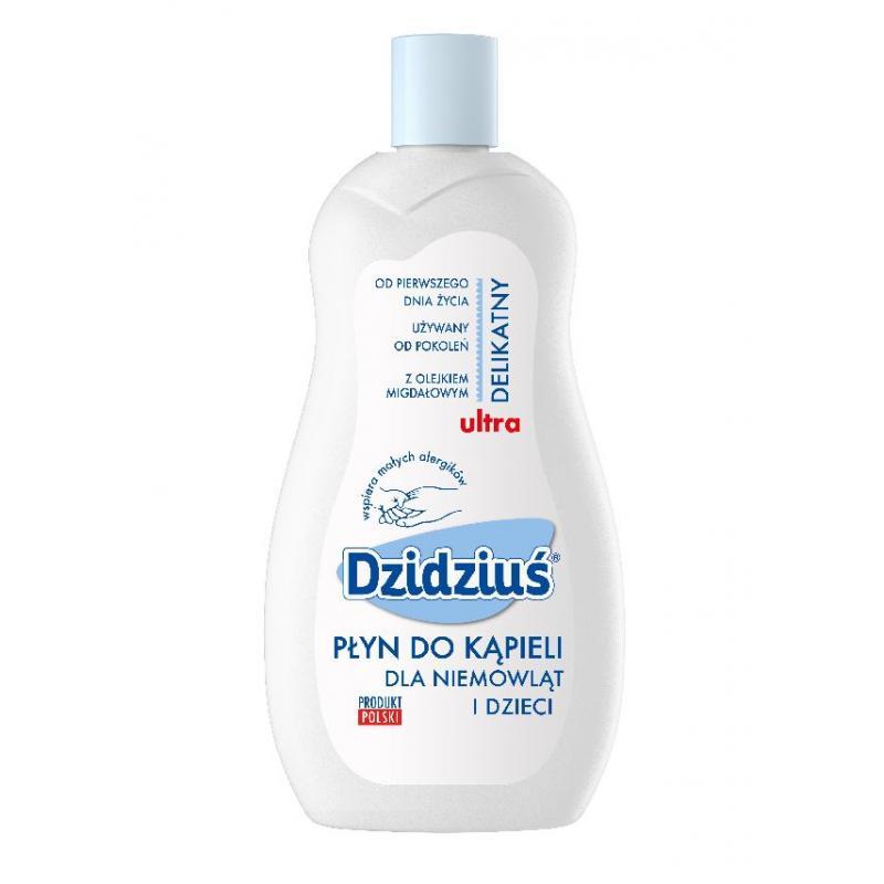 Ultra delikatny płyn do kąpieli dla niemowląt i dzieci z olejkiem migdałowym 500ml