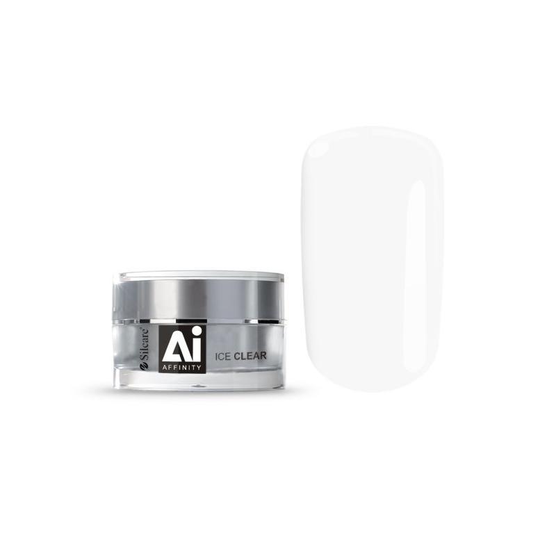 Gel Affinity średniogęsty jednofazowy żel do paznokci Ice Clear 30g