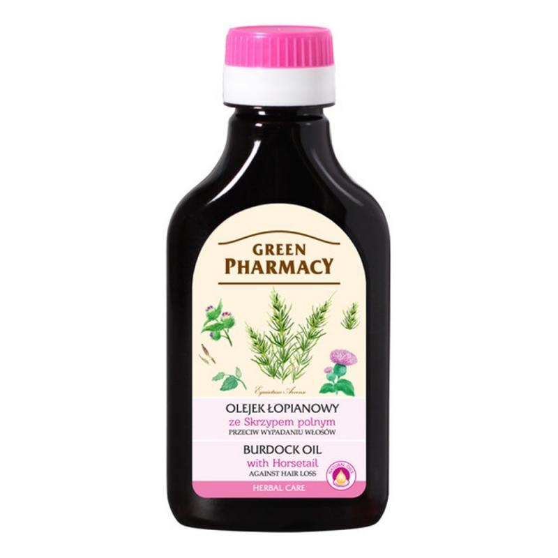 Burdock Oil olejek łopianowy przeciw wypadaniu włosów Skrzyp Polny 100ml