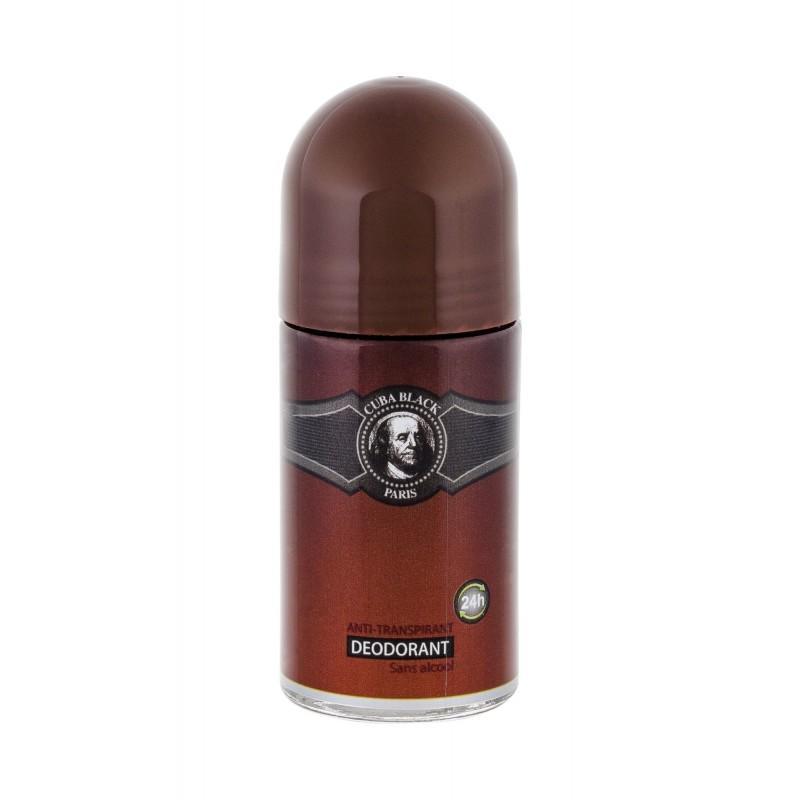 Cuba Black dezodorant w kulce 50ml