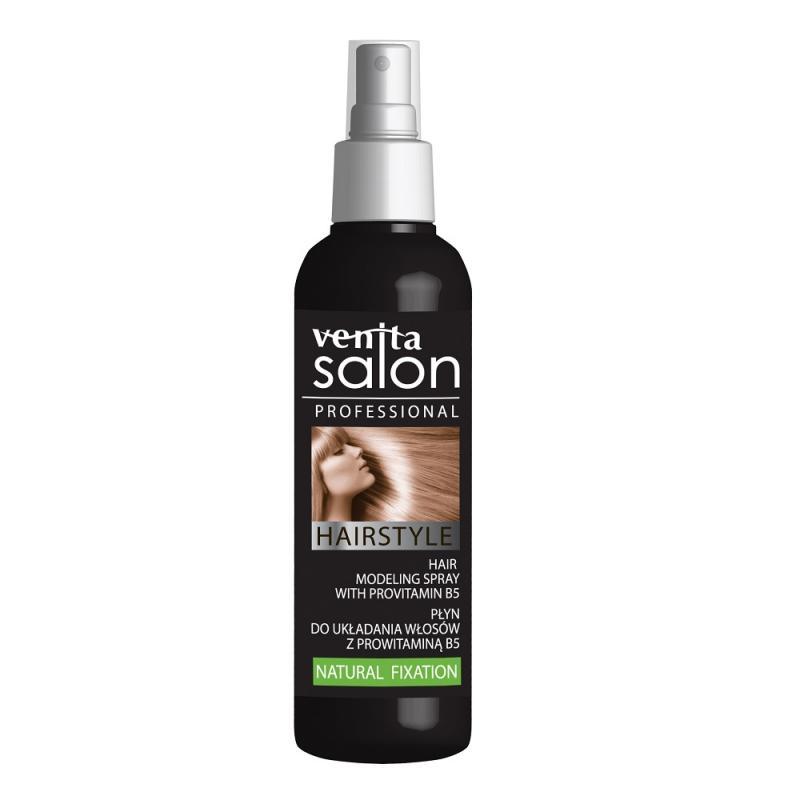 Salon Professional Hairstyle płyn do układania włosów kręconych i prostych Natural Fixation 130ml