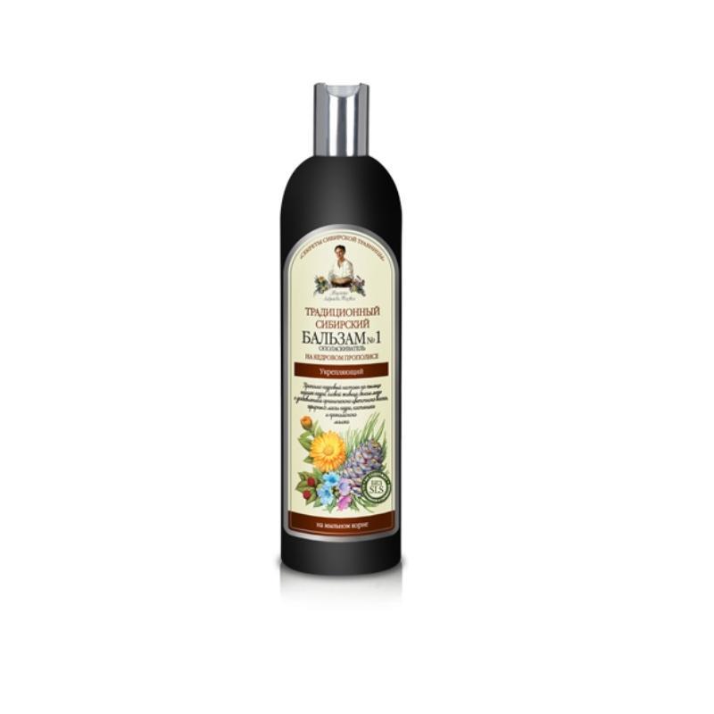 Receptury Babuszki Agafii wzmacniający balsam nr1 do włosów osłabionych 550ml