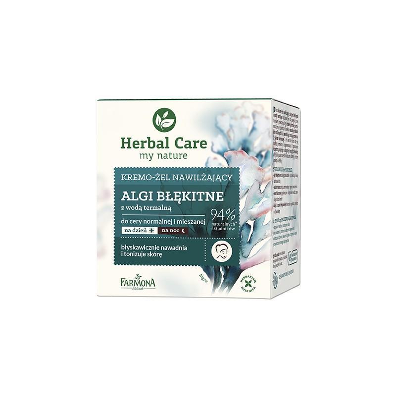 Herbal Care Algi Błękitne Moisturizing Cream-Gel kremo-żel nawilżający 50ml