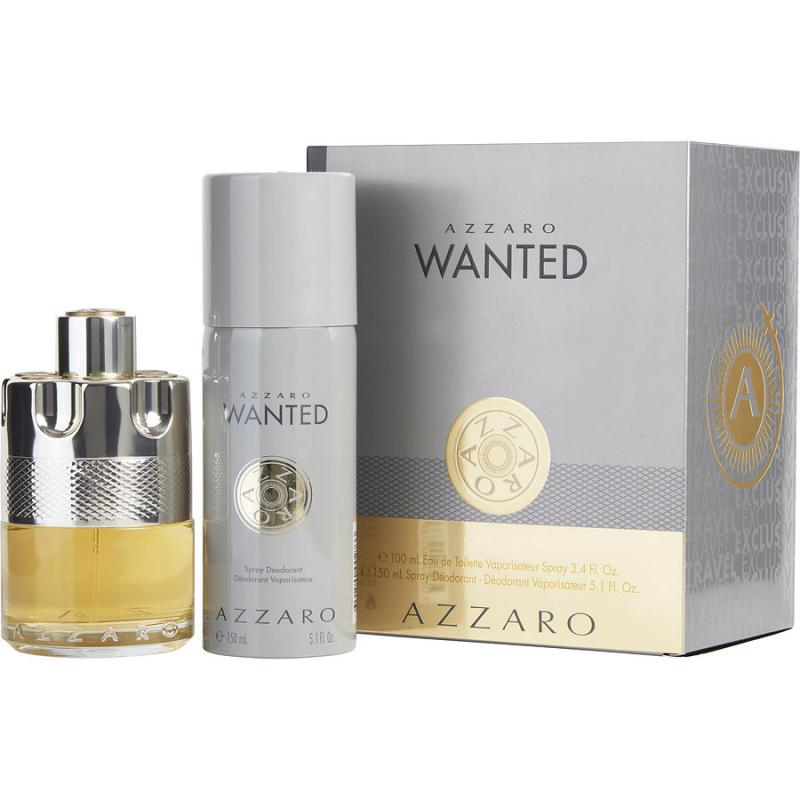 Wanted zestaw woda toaletowa spray 100ml + dezodorant spray 150ml