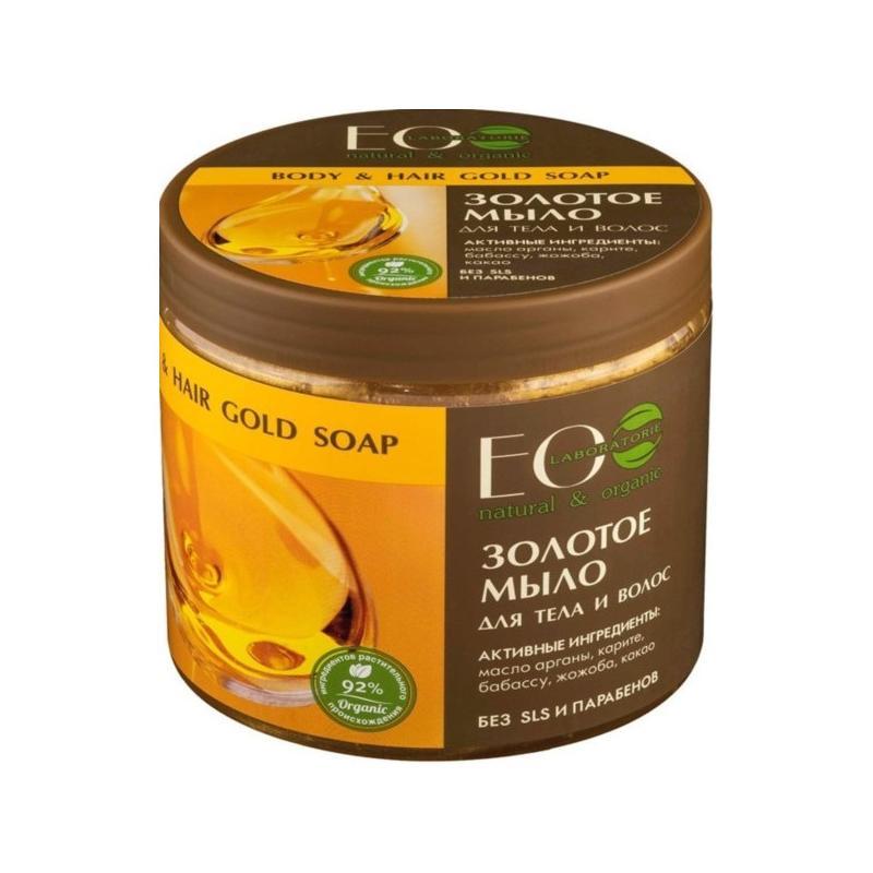 Body & Hair Gold Soap złote mydło do ciała i włosów 450ml