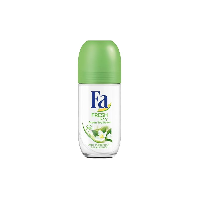 Fresh & Dry Green Tea Scent Anti-perspirant Roll-on antyperspirant w kulce 50ml