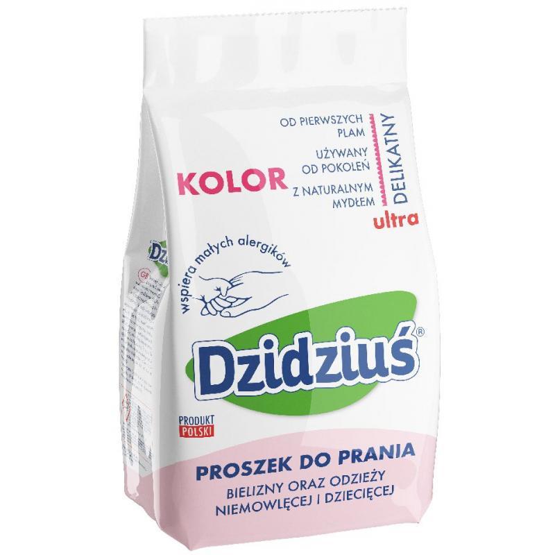 Ultra delikatny proszek do prania odzieży niemowlęcej i dziecięcej Kolor 1.5kg