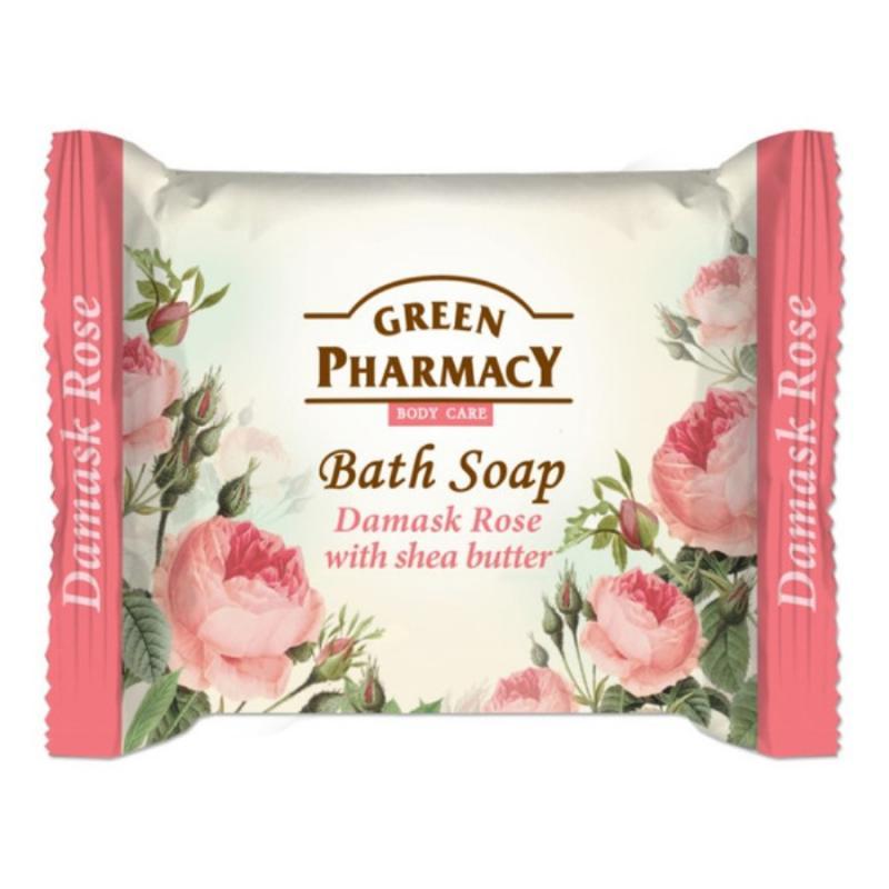 Bath Soap mydło w kostce Róża Damasceńska i Masło Shea 100g
