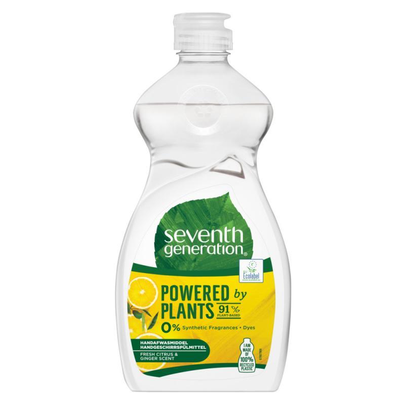 Powered By Plants Hand Dish Wash płyn do mycia naczyń Fresh Citrus & Ginger Scent 500ml