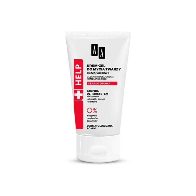 Help Cleansing Gel-Cream bezzapachowy krem-żel do mycia twarzy do cery atopowej 150ml