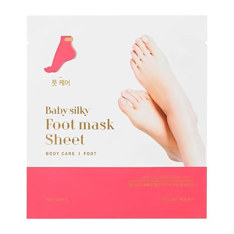Baby Silky Foot Mask Sheet regenerująca maseczka do stóp w formie skarpet 18ml