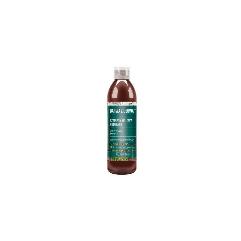 Ziołowa szampon ziołowy do włosów jasnych Rumianek 250ml