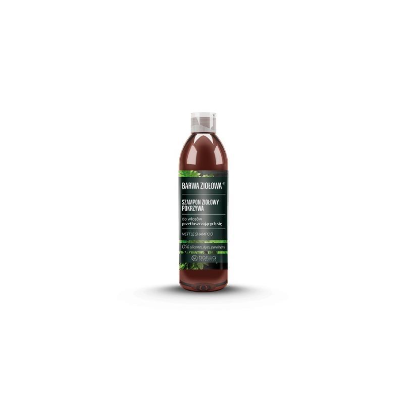 Ziołowa szampon ziołowy do włosów przetłuszczających się Pokrzywa 250ml
