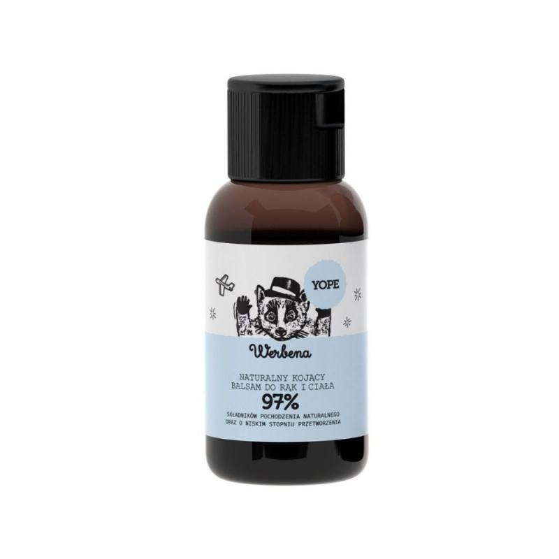 Naturalny mini balsam do rąk i ciała Werbena 40ml