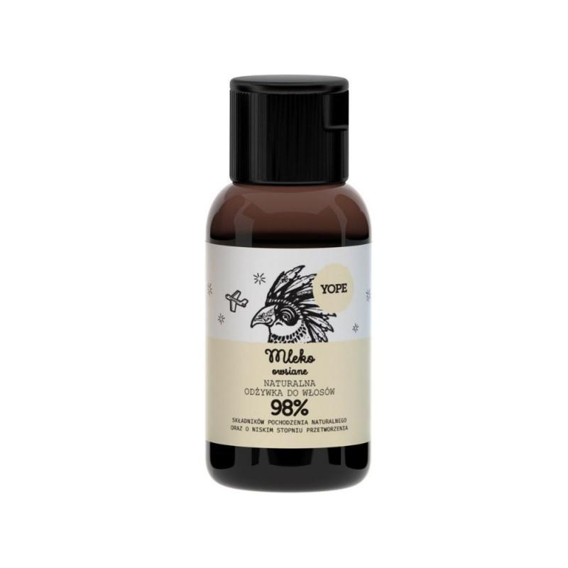 Naturalna mini odżywka do włosów normalnych Mleko Owsiane 40ml