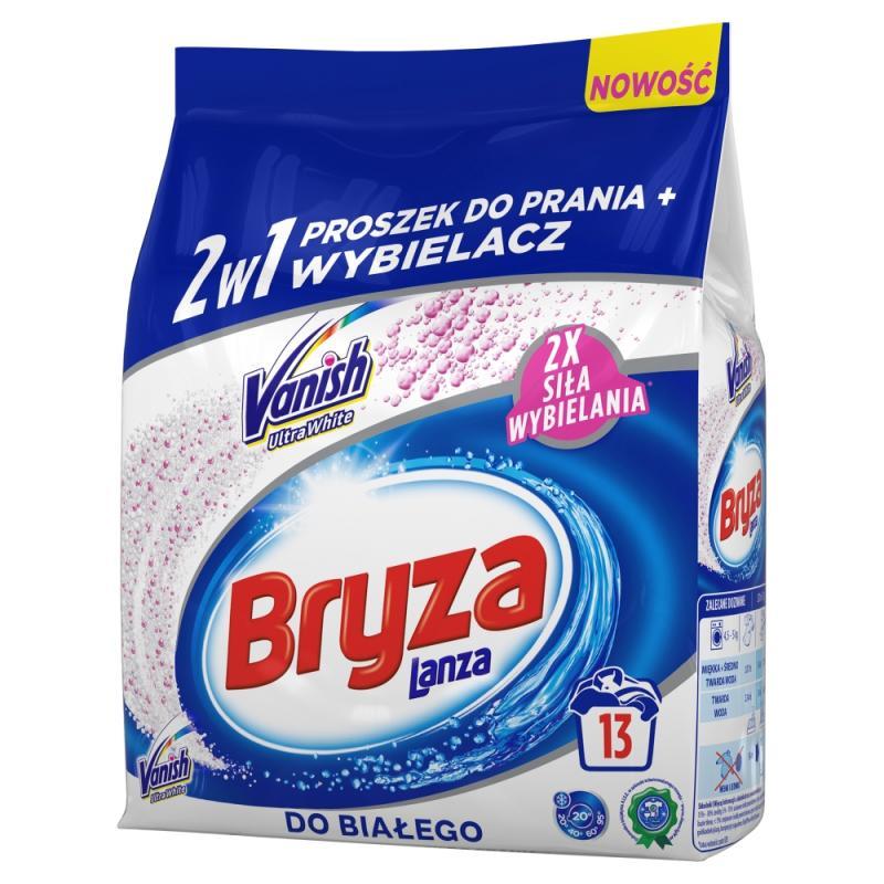 Lanza Vanish Ultra White 2w1 proszek do prania i wybielacz do bieli 1kg