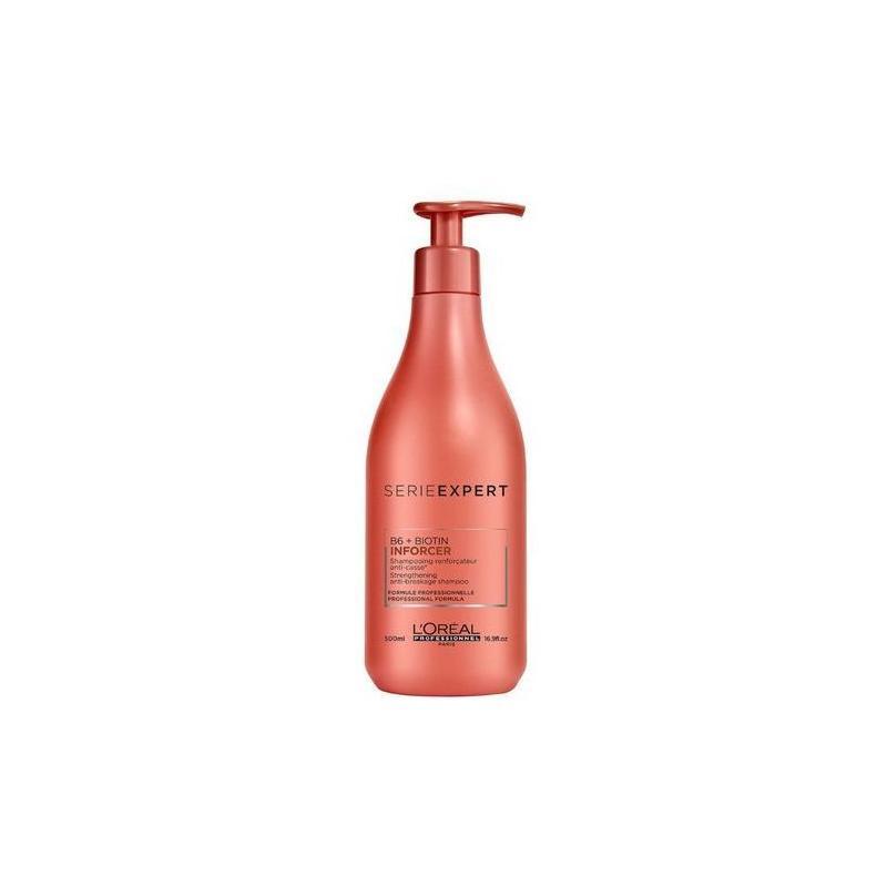Serie Expert Inforcer Strengthening Anti-Breakage Shampoo wzmacniający szampon do włosów słabych i łamliwych 500ml