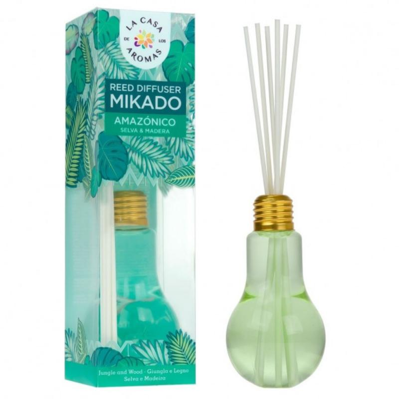 Olejek aromatyczny z patyczkami Dżungla Amazońska 150ml