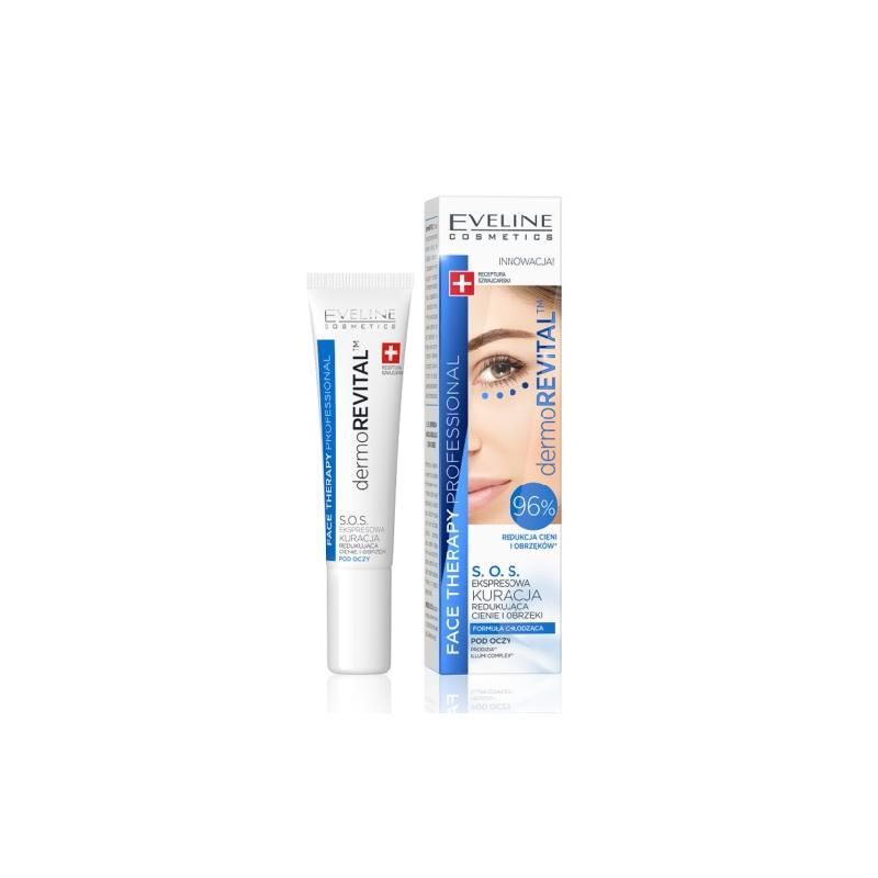 Face Therapy Professional Dermorevital kuracja S.O.S. redukująca cienie i obrzęki pod oczami 15ml