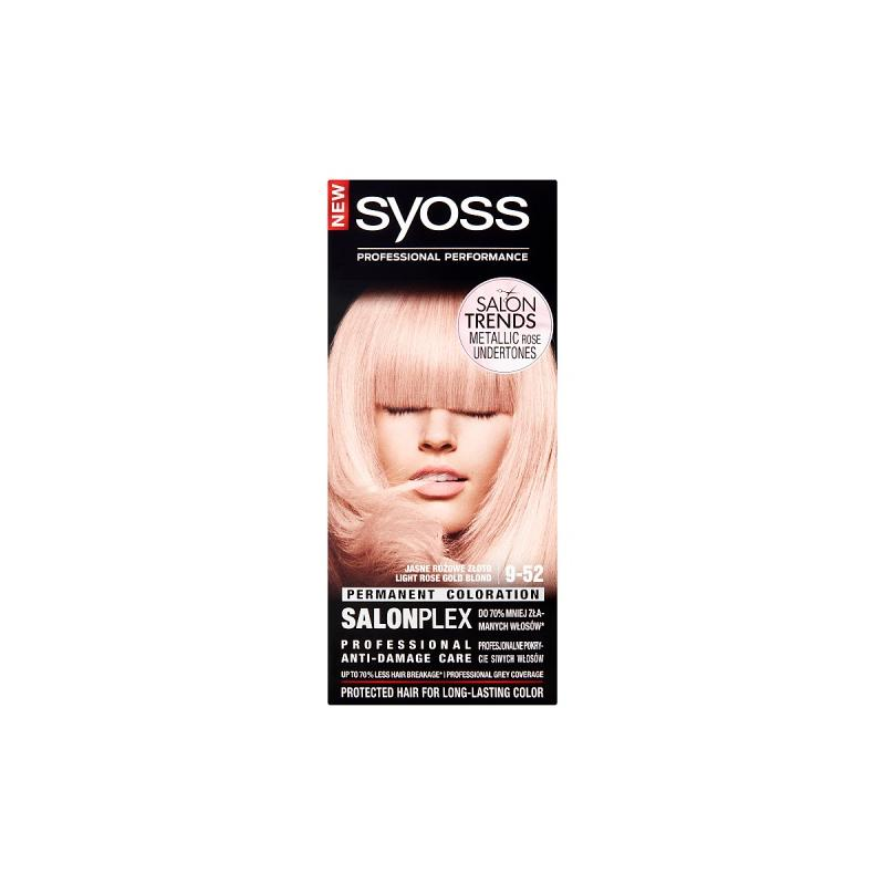 Classic Salon Trends farba do włosów trwale koloryzująca 9-52 Różowy Blond