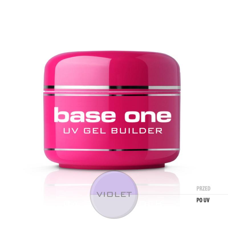 Gel Base One Violet żel budujący do paznokci 50g