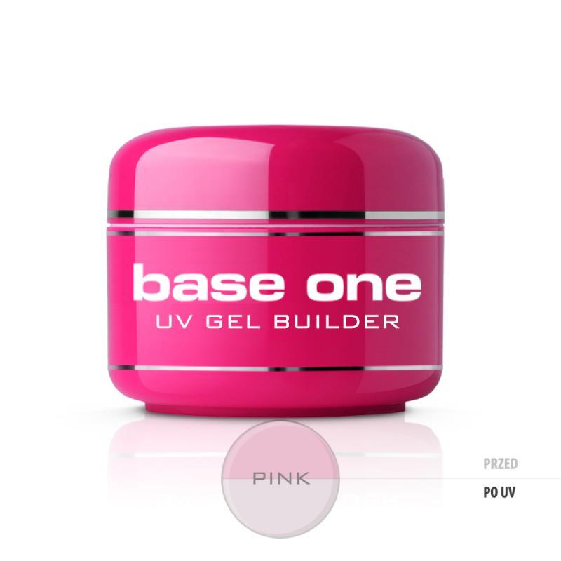 Base One Pink żel budujący do paznokci 30g