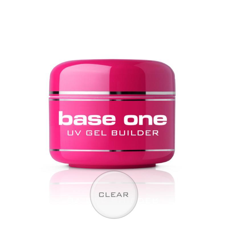 Base One Clear bezbarwny żel budujący do paznokci 15g