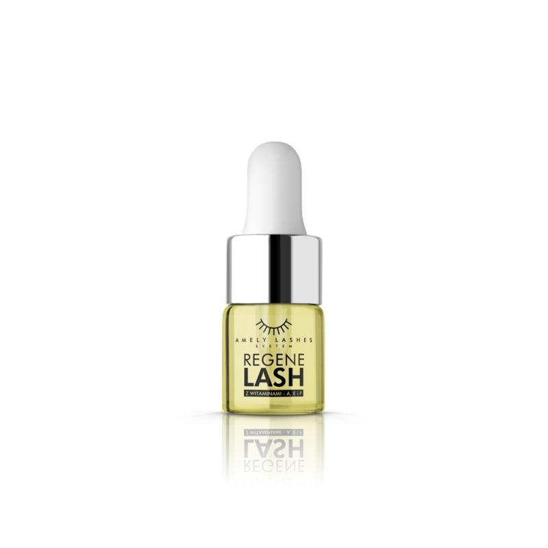 Amely Eyelashes System Regenelash Oil naturalny olejek z witaminami A E F do rzęs 6ml