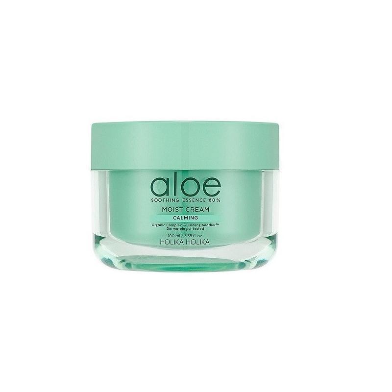 Aloe Soothing Essence 80% Moist Cream lekki krem nawilżający 100ml