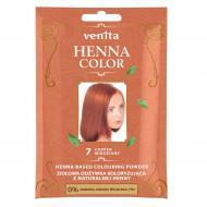 Henna Color ziołowa odżywka koloryzująca z naturalnej henny 7 Miedziany