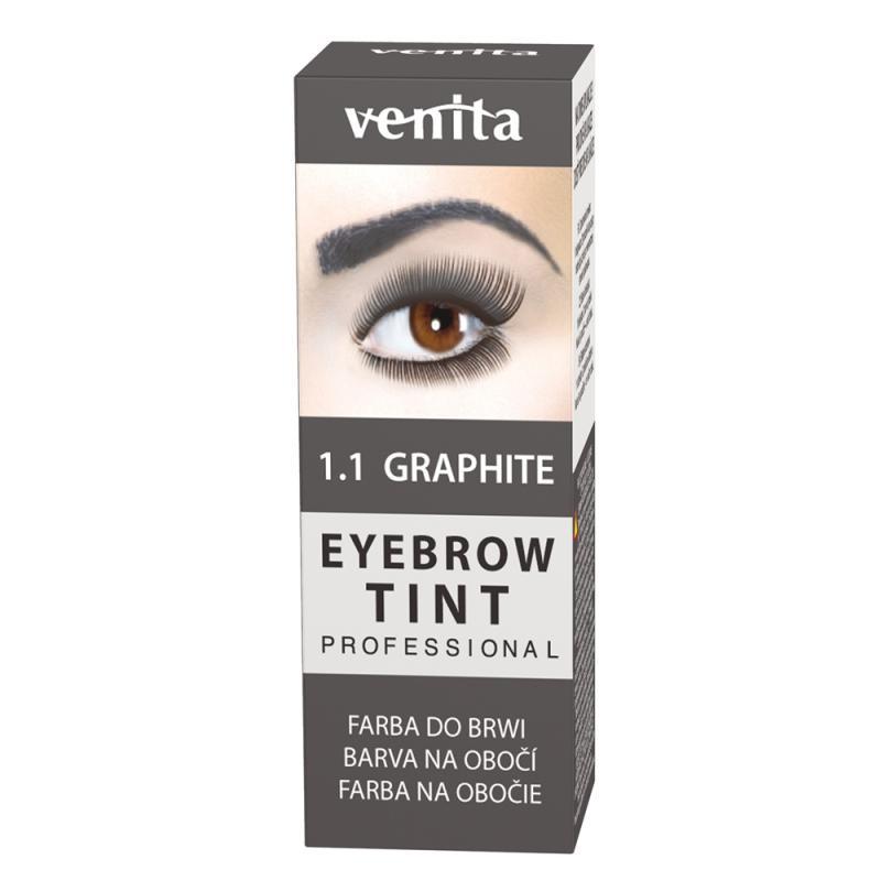 Professional Eyebrow Tint farba do brwi w proszku Graphite