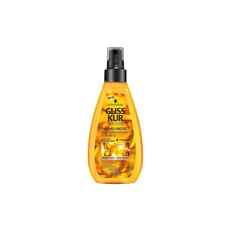 Thermo-Protect Blow-Dry Oil olejek termoochronny do włosów podatnych na uszkodzenia 150ml