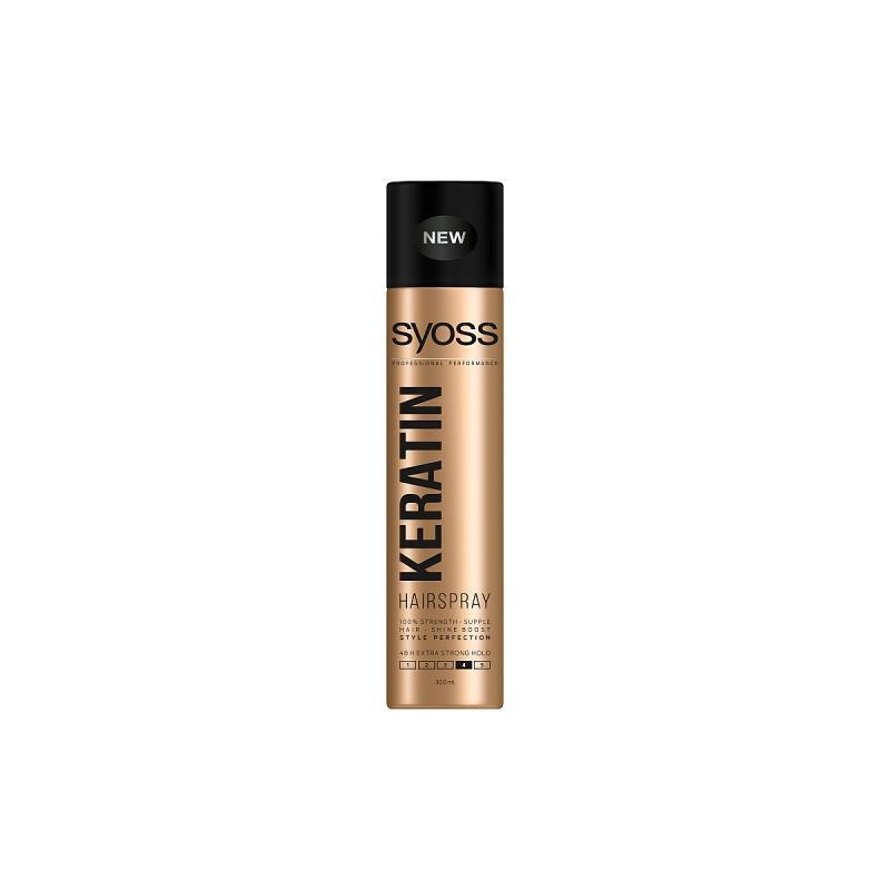 Keratin Hairspray lakier do włosów w sprayu Extra Strong 300ml