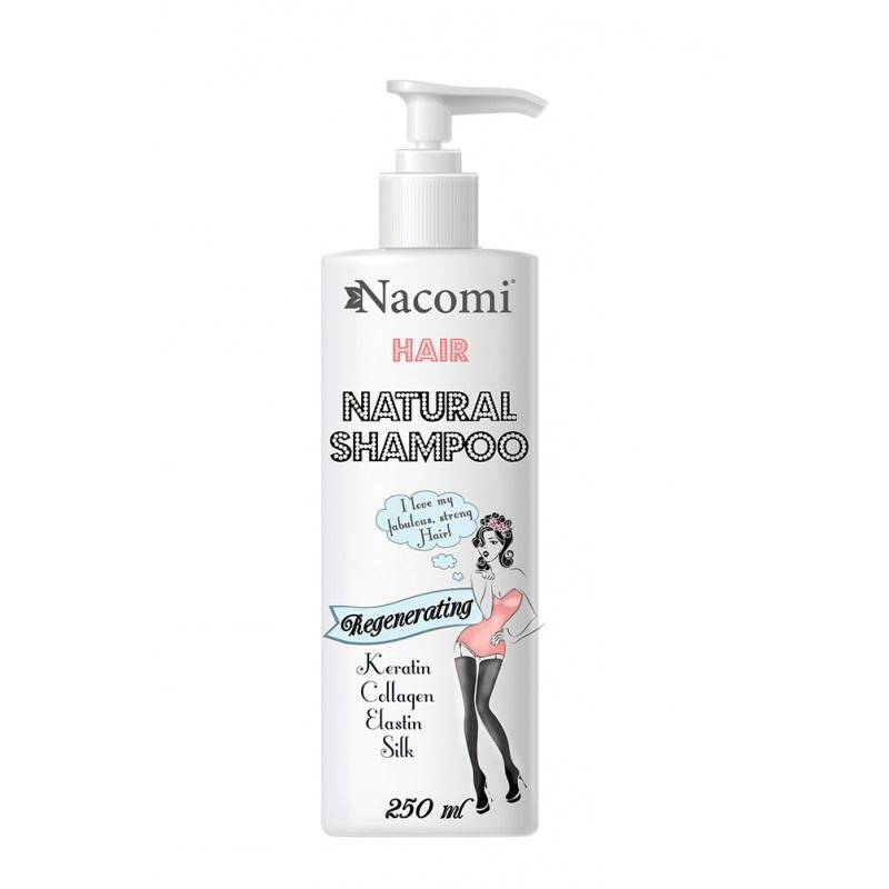 Hair Natural Shampoo Regenerating odżywczo-regenerujący szampon do włosów 250ml